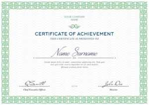 Free Certificates Templates (Psd) inside Certificate Of Attendance Conference Template