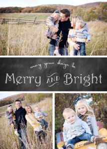 Free Chalkboard Christmas Card Templates » Chelsea Peterson with Free Christmas Card Templates For Photographers