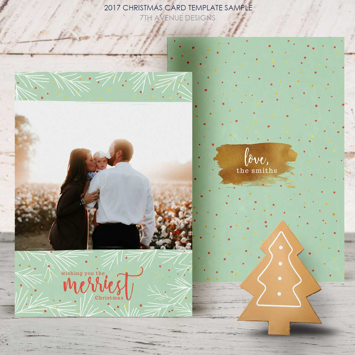 Free Christmas Card 2017 [Freecc2017] - It's Free Within Free Christmas Card Templates For Photographers