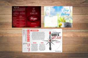 Free Church Bulletin Templates – Customize In Microsoft Word throughout Free Church Brochure Templates For Microsoft Word