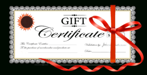 Free Clipart Gift Certificate with regard to Christmas Gift Certificate Template Free Download