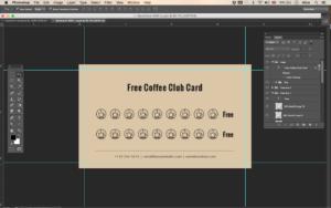 Free Coffee Club Card – Id03 with regard to Customer Loyalty Card Template Free