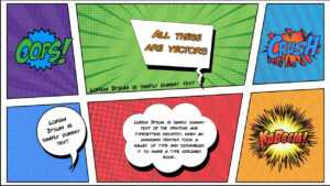 Free Comic Book Powerpoint Template For Download   Slidebazaar with regard to Fun Powerpoint Templates Free Download