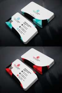 Free Corporate Business Card Template – Creativetacos regarding Free Personal Business Card Templates