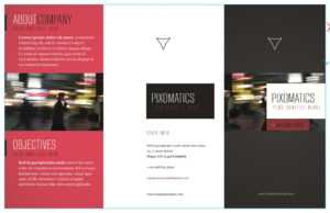 Free Corporate Tri Fold Brochure Template (Ai) within Country Brochure Template