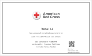Free Cpr Certification Card First Aid Course Certificate pertaining to Cpr Card Template