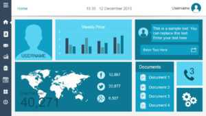 Free Dashboard Templates – for Free Powerpoint Dashboard Template