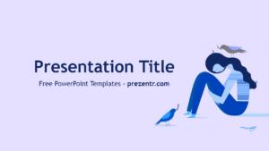 Free Depression Powerpoint Template – Prezentr Powerpoint in Depression Powerpoint Template