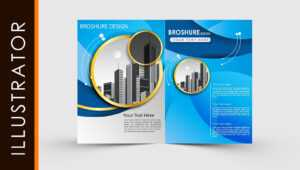 Free Download Adobe Illustrator Template Brochure Two Fold intended for Brochure Templates Ai Free Download