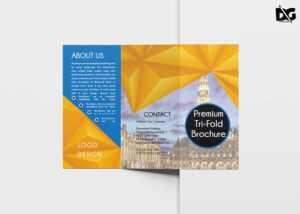 Free Download Architectural Tri-Fold Psd Brochure Template in Architecture Brochure Templates Free Download