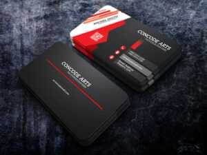 Free Download Black Colour Professional Business Cards Vol intended for Professional Business Card Templates Free Download