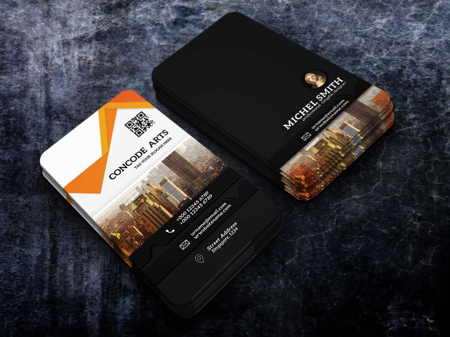 Free Download Professional Building Construction Business Within Construction Business Card Templates Download Free