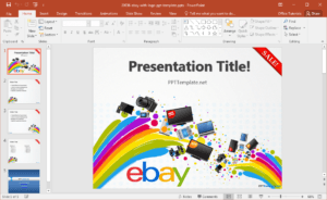Free Ebay Powerpoint Template pertaining to How To Design A Powerpoint Template