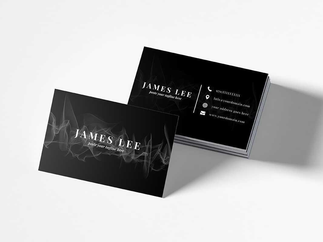 Free Elegant Business Card Templatefaraz Ahmad For For Free Personal Business Card Templates