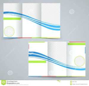 Free Fold Brochure Templates Blank Pamphlet Word Template pertaining to Microsoft Word Brochure Template Free