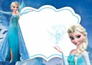 Free Frozen Invitation Template – Printable – Bagvania for Frozen Birthday Card Template