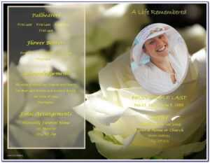 Free Funeral Photo Slideshow Template | Marseillevitrollesrugby for Funeral Powerpoint Templates
