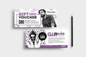 Free Gift Voucher Templates (Psd & Ai) – Brandpacks with regard to Gift Card Template Illustrator