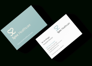 Free Gloss Emboss Business Card Samples • Pinksheep in Medical Business Cards Templates Free