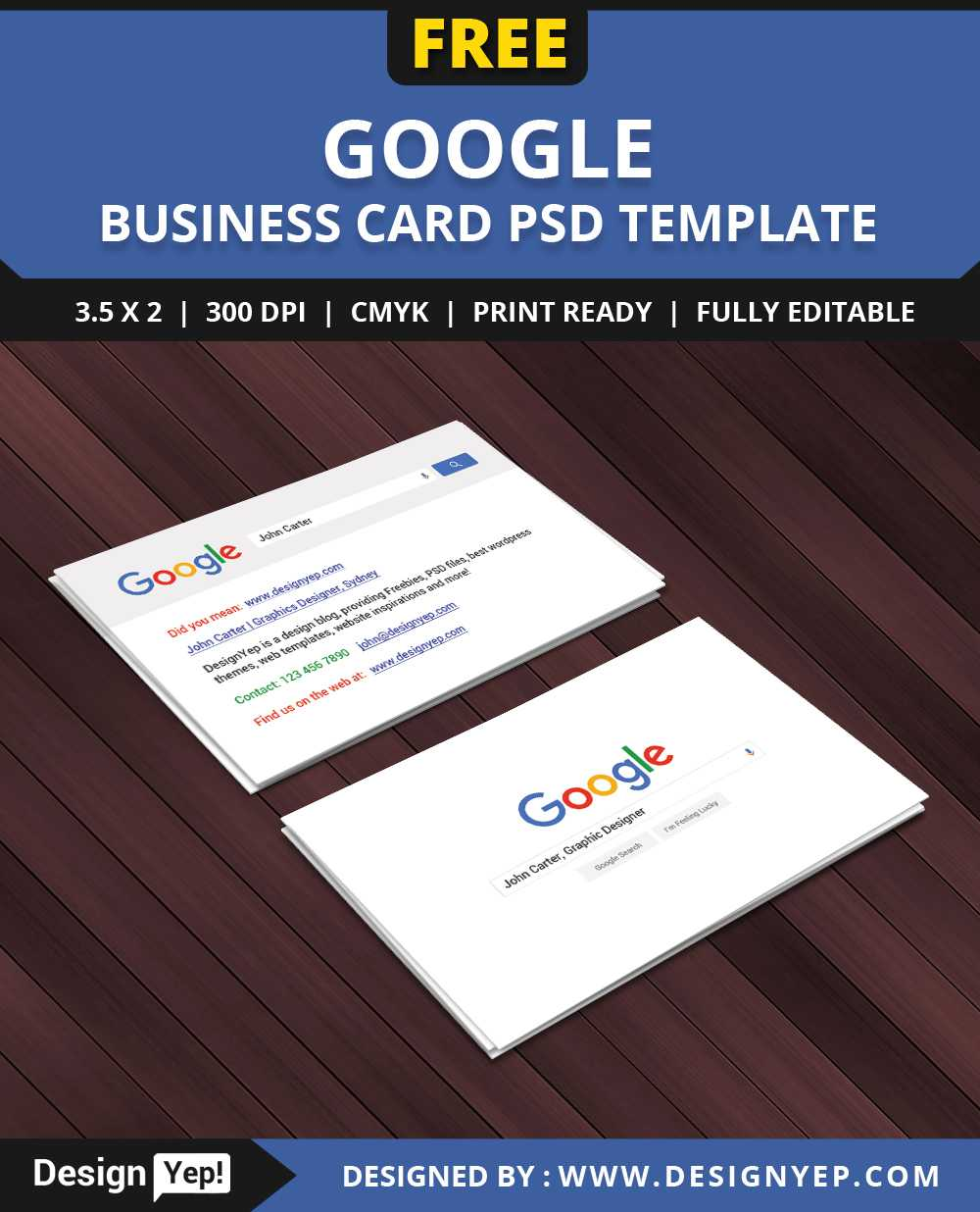 Free Google Interface Business Card Psd Template On Behance Intended For Google Search Business Card Template