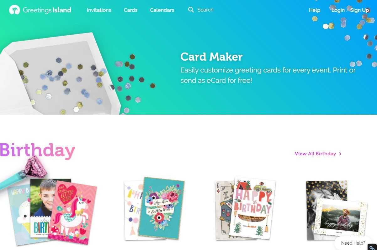 Free Greeting Card Templates For All Occasions Pertaining To Template For Cards To Print Free