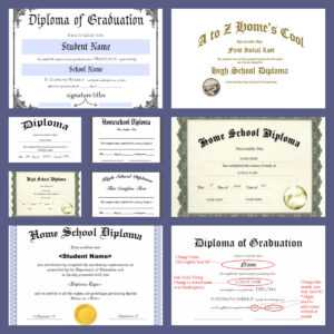 Free Homeschool Diploma Forms Online – A Magical Homeschool for 5Th Grade Graduation Certificate Template