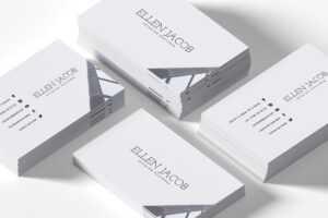 Free Interior Design Business Card Template – Creativetacos for Designer Visiting Cards Templates