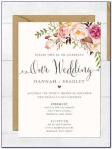 Free Invitation Card Templates For Engagement for Engagement Invitation Card Template