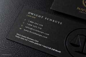 Free Lawyer Business Card Template | Rockdesign intended for Lawyer Business Cards Templates