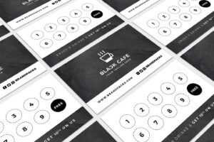 Free Loyalty Card Templates – Psd, Ai & Vector – Brandpacks throughout Business Punch Card Template Free