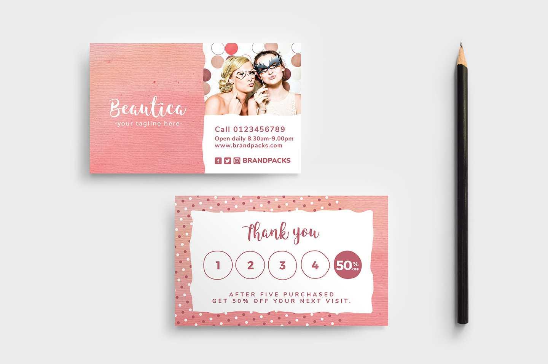 Free Loyalty Card Templates - Psd, Ai & Vector - Brandpacks Throughout Customer Loyalty Card Template Free