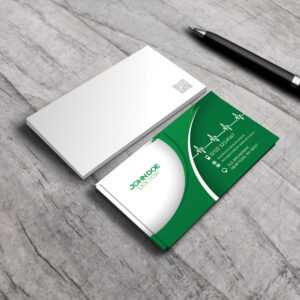 Free Medical Business Card Psd Template : Business Cards within Medical Business Cards Templates Free