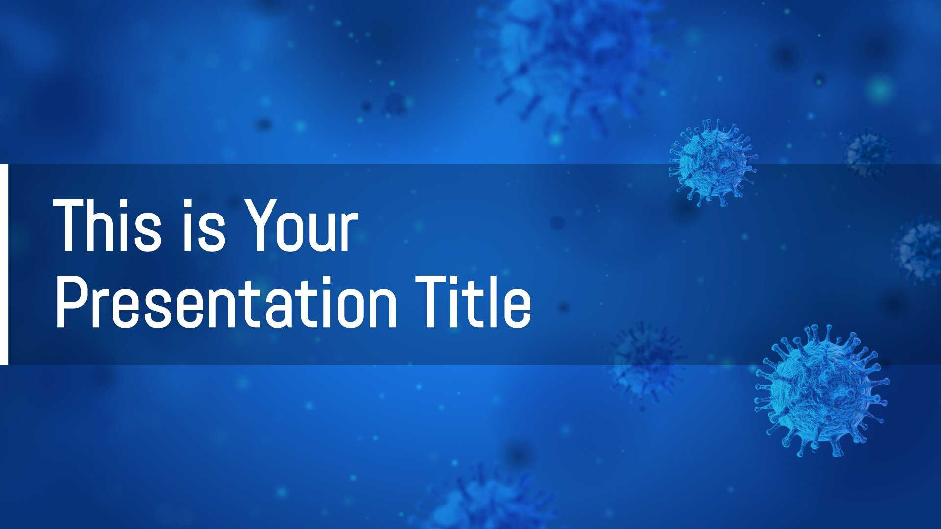 Free Medical Powerpoint Template & Google Slides Theme With Throughout Virus Powerpoint Template Free Download