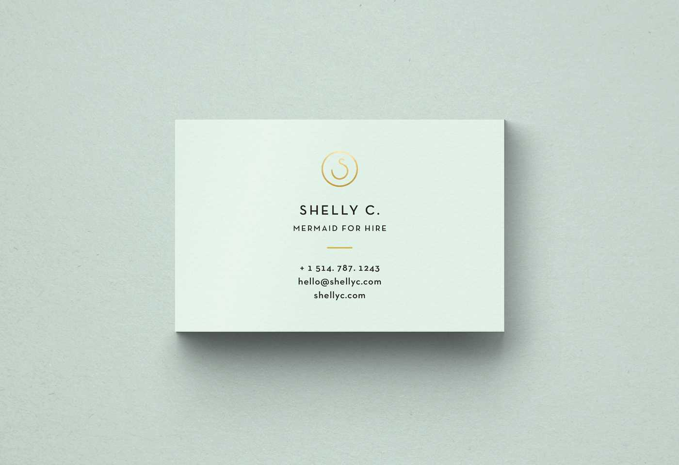 Free Minimal Business Card Template Regarding Free Bussiness Card Template