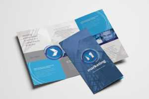 Free Multipurpose Trifold Brochure Template For Photoshop intended for Free Three Fold Brochure Template