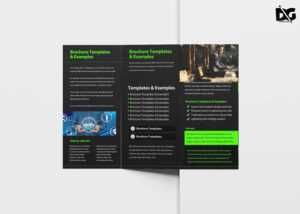 Free Operation Tri-Fold Brochure Template   Free Psd Mockup for Pop Up Brochure Template