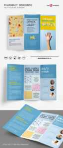 Free Pharmacy Brochure Template In Psd + Ai | Free Psd Templates for Pharmacy Brochure Template Free