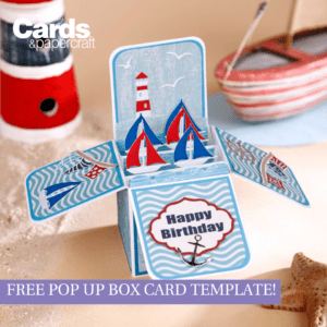 Free Pop Up Box Card Template – Simply Cards & Papercraft with Popup Card Template Free