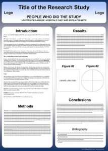Free Powerpoint Scientific Research Poster Templates For for Powerpoint Poster Template A0