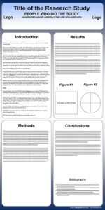Free Powerpoint Scientific Research Poster Templates For throughout Powerpoint Poster Template A0