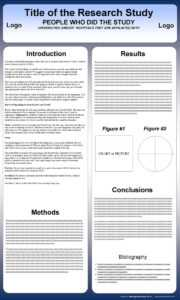 Free Powerpoint Scientific Research Poster Templates For with regard to Powerpoint Academic Poster Template