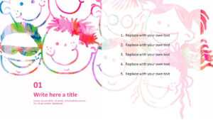Free Ppt Template Design – Kids Art for Fairy Tale Powerpoint Template