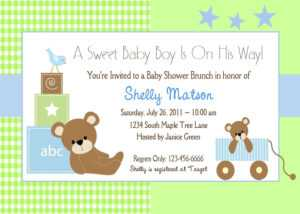 Free Printable Baby Shower Cards | Free Printable Baby regarding Amscan Imprintable Place Card Template