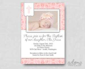 Free Printable Baptism Invitations in Free Christening Invitation Cards Templates
