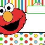 Free Printable Elmo Birthday Invitations – Bagvania inside Elmo Birthday Card Template