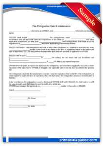 Free Printable Fire Extinguisher Sale & Maintenance with regard to Fire Extinguisher Certificate Template