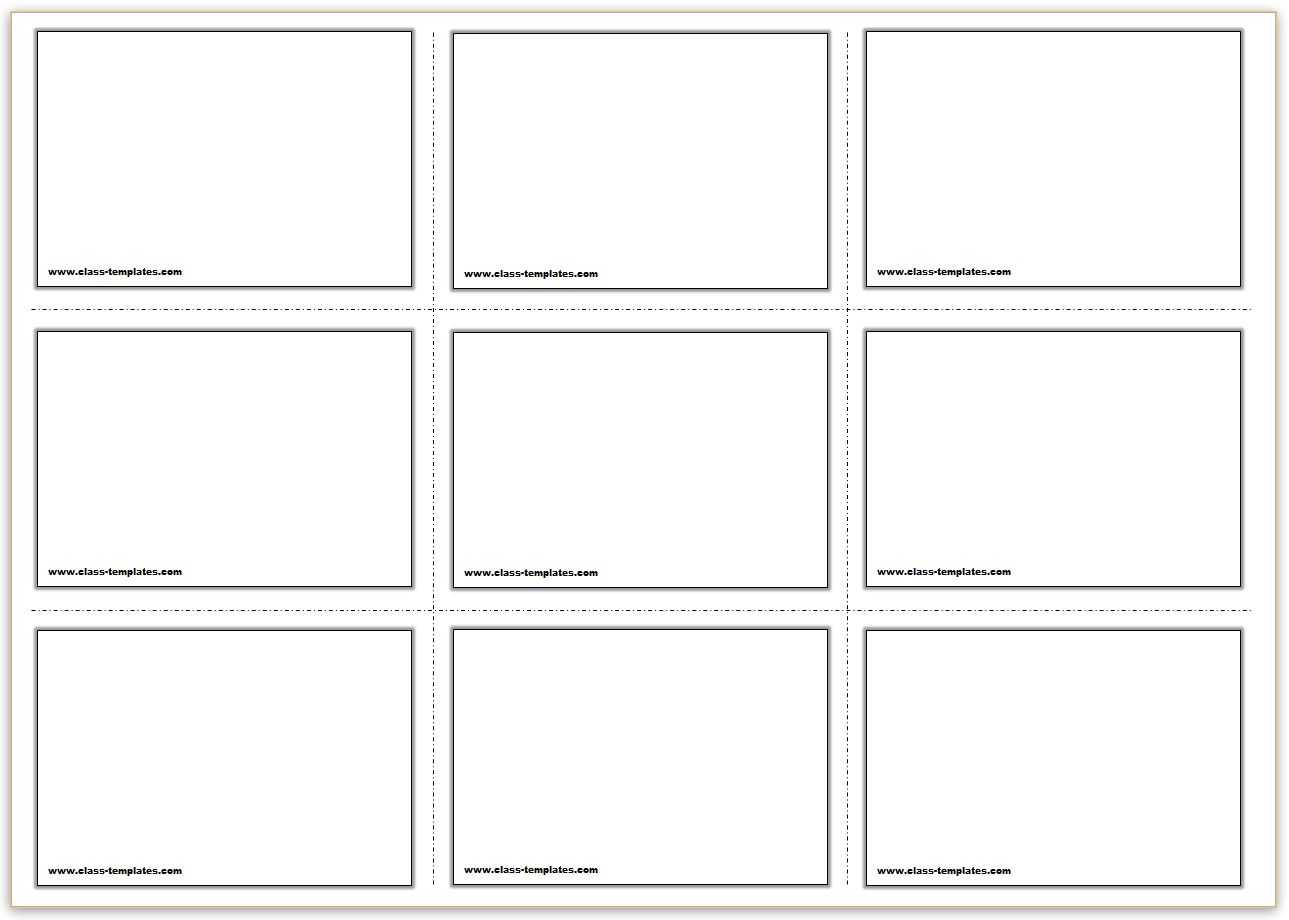 Free Printable Flash Card Templates - Tomope.zaribanks.co In Free Printable Blank Flash Cards Template