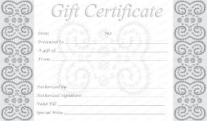 Free Printable Gift Card Template – Oflu.bntl within Printable Gift Certificates Templates Free