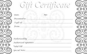 Free Printable Gift Cards | Room Surf for Printable Gift Certificates Templates Free
