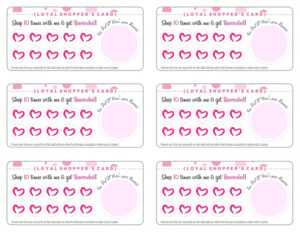 Free Printable Loyalty Card Template – Cards Design Templates with Customer Loyalty Card Template Free